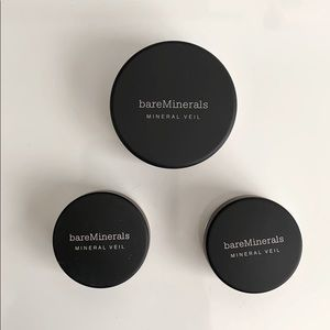3 Unopened Bare Minerals Mineral Veil